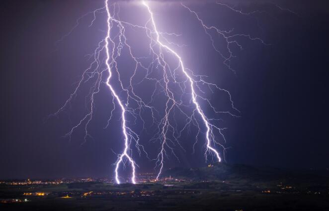 与全球气候变化有关的更强烈和更频繁的雷暴