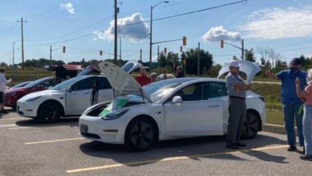 电动汽车展在奥里利亚启动可持续发展月