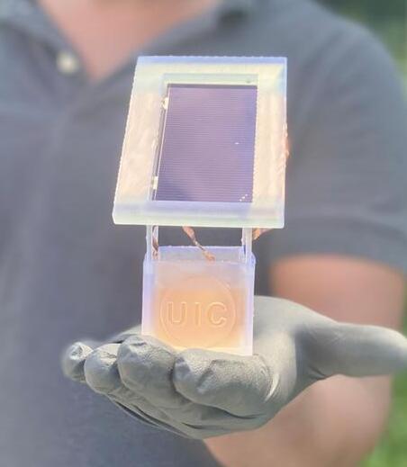 结合阳光和废水硝酸盐制造世界第二大化学品