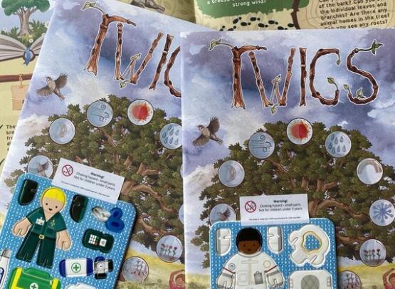 前克利瑟罗学生推出鼓舞人心的环保儿童杂志