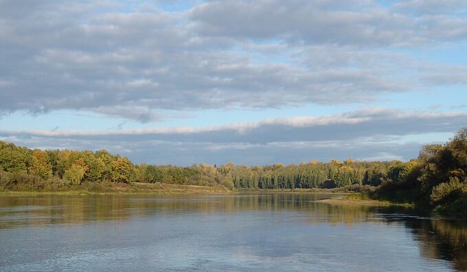 维亚特卡河流域侵蚀与河流流量研究