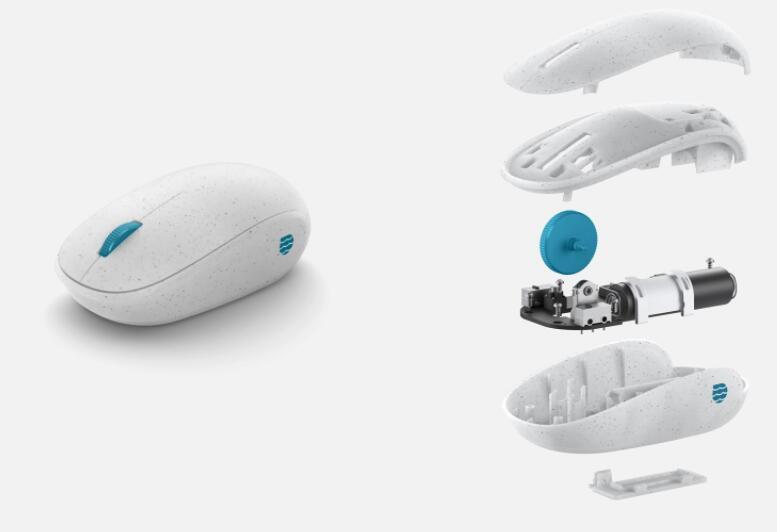 独特树脂的合作促进了海洋塑料鼠标的创造