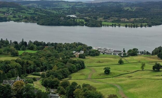 湖区利用水电能源